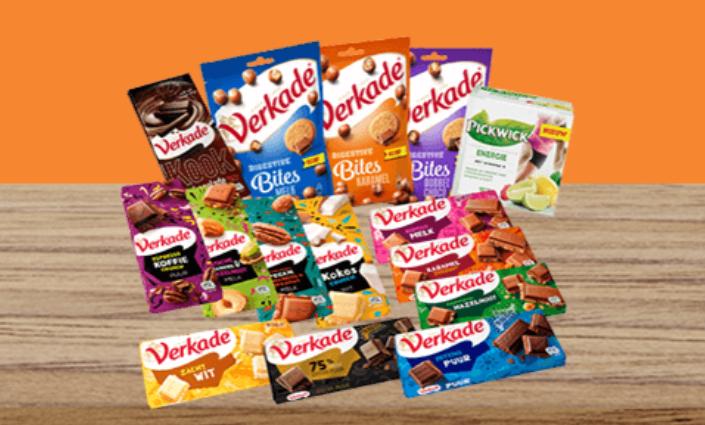 Verkade Chocoladepakket t.w.v. €29,95 voor €16,99