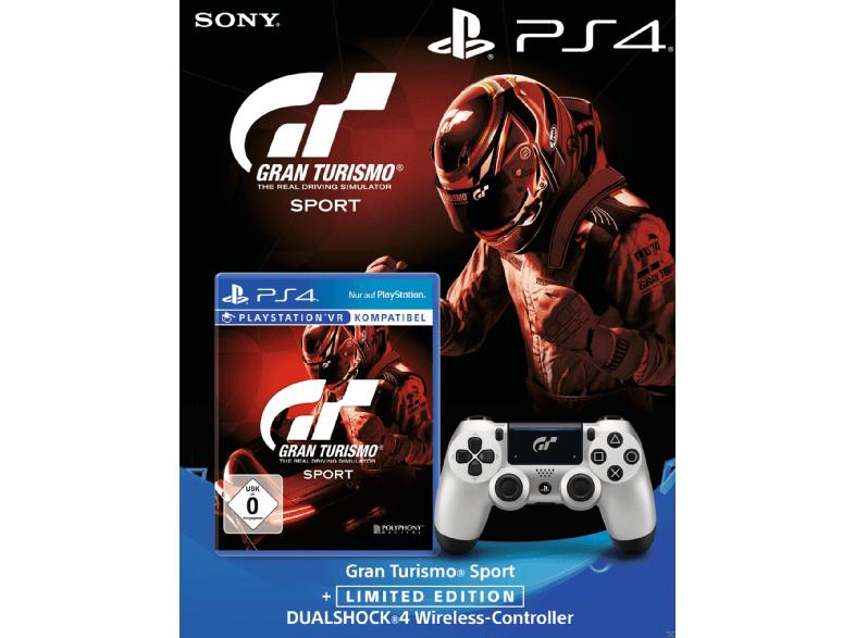 Grensdeal Mediamarkt Gran Turismo Sport + Wireless DualShock Controller GT Sport [PlayStation 4]