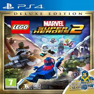 PS4 LEGO Marvel Super Heroes 2 Deluxe Edition