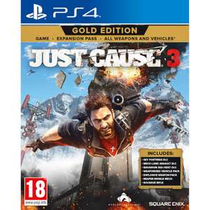 Just Cause 3 XL Edition PS4 & Xbox One