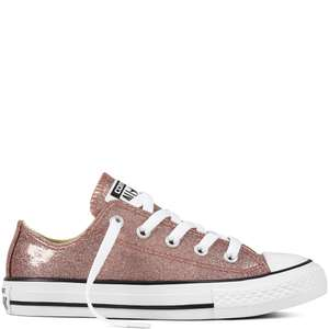 Converse All Star Ox Sparkle kids sneakers -70% = €15 @ JD Sports