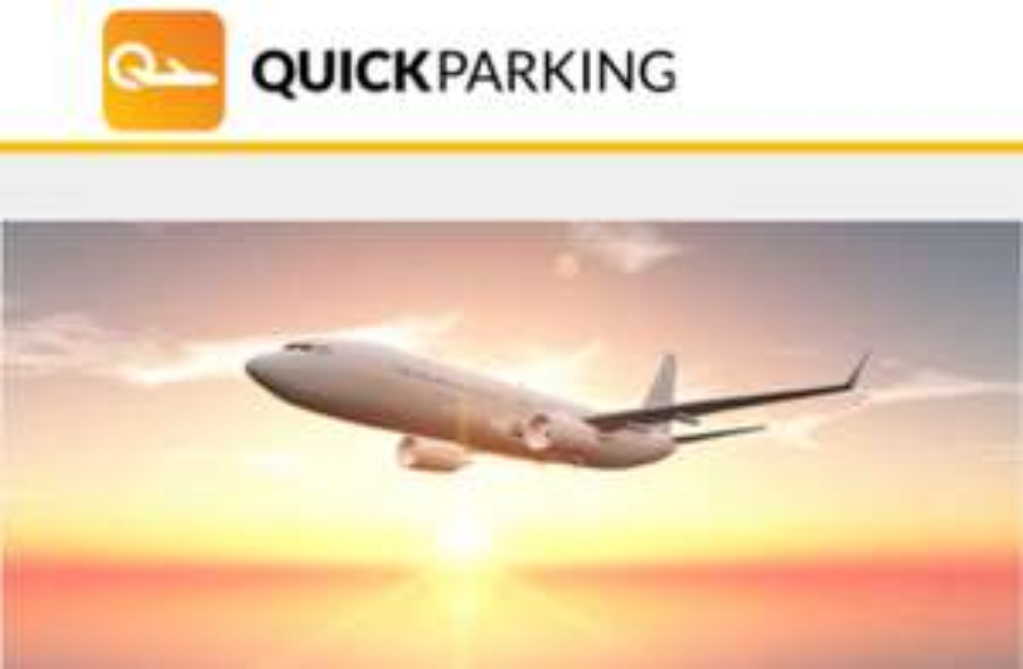 Korting 10% op parkeren Quick Parking Schiphol