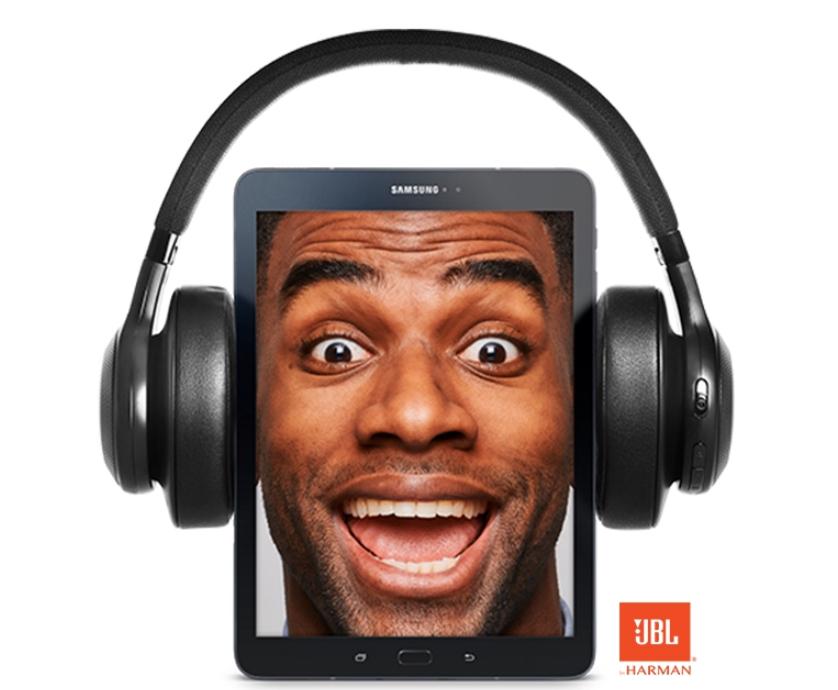 GRATIS JBL hoofdtelefoon t.w.v. €119,- bij aankoop van een Samsung Tab S2 9.7 of Tab S3 9.7
