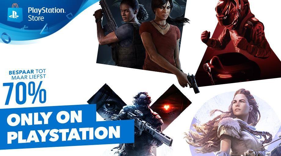 Tot wel 70% korting op digitale edities vanuit de PlayStation Store