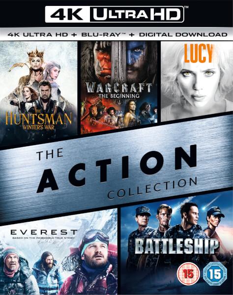 5 4K Blu-rays (+ 5 normale Blu-rays + digitale versies) voor €34,51 @ Zavvi
