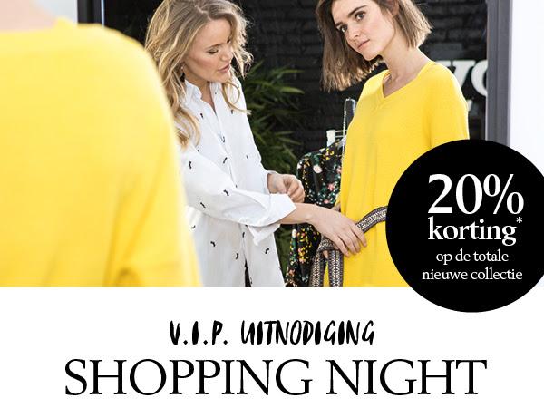 Shoeby Shopping Night: alleen vandaag van 17:00 tot 21:00 (winkel) en 17:00 tot 24:00 (online) 20% korting op de totale nieuwe collectie