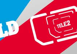 Geen €15 aansluitkosten bij een Sim Only abbonement @ Tele2