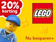20% korting op alle LEGO artikelen @ Toysrus