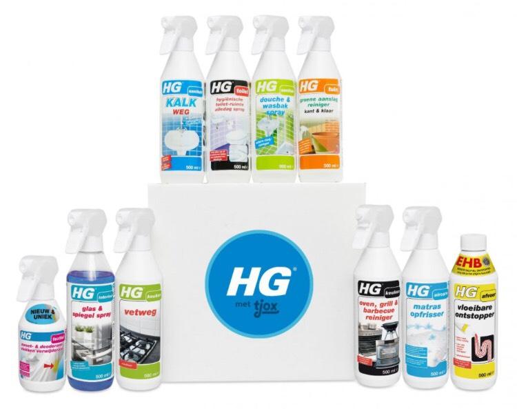 Hg box van 41,95 voor 24,95