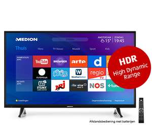 "MEDION® LIFE® X14904 (49"") Ultra HD Smart-TV met HDR - €399 @ Aldi"