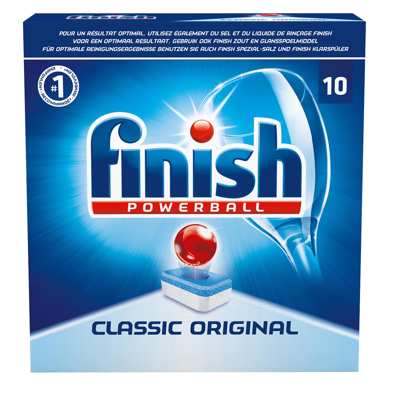 Finish vaatwastabletten Classic 10 stuks - €0,99 @ Action