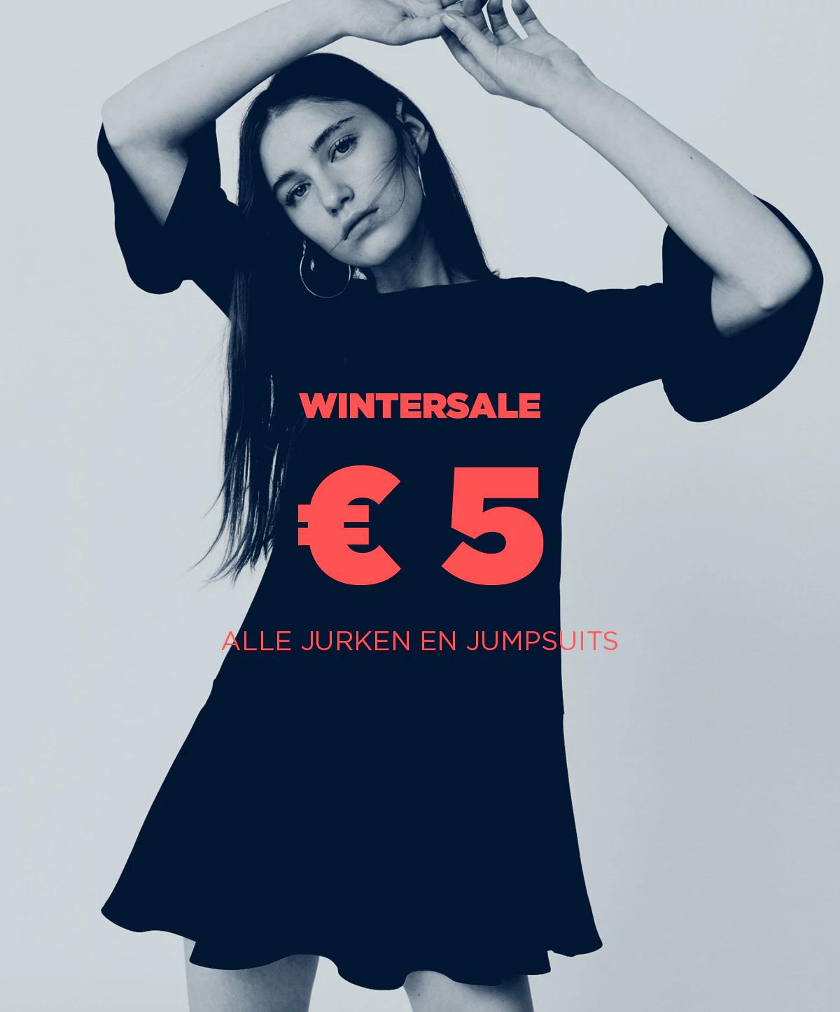 Alle jurken en jumpsuits voor €5 (adviesprijs tot €119,99!) @ Mango Outlet