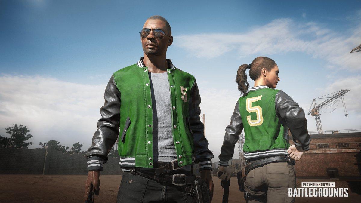 Gratis PUBG5 jacket voor PlayerUnknown's Battlegrounds (Xbox One)