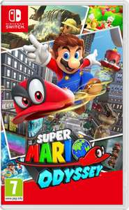 Super Mario Odyssey (Switch) voor €41,95 @ Coolshop