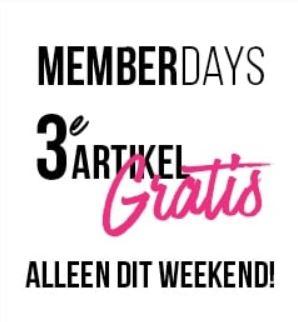Memberdays: 3e artikel gratis @ Hunkemöller