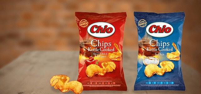 Chio kettle chips via Scoupy van 1,39€ voor 0,50€