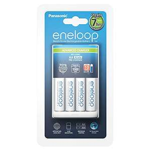 Panasonic Advanced Charger met 4 x eneloop AA @ Amazon.de