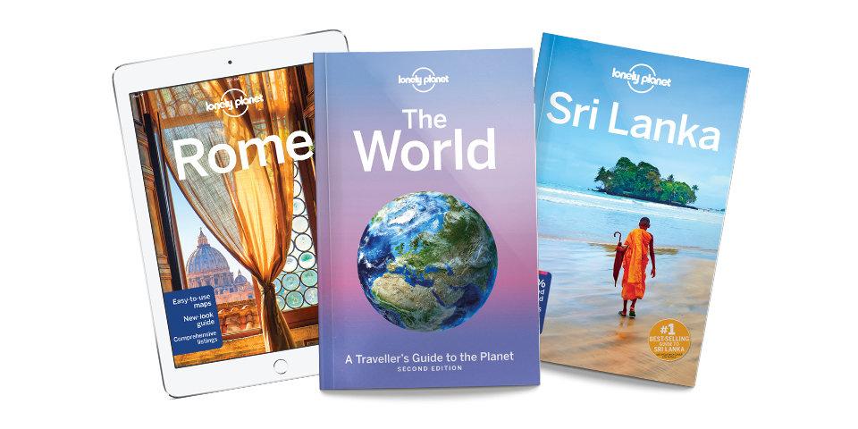 Lonely Planet, 2 halen 1 betalen op alles.