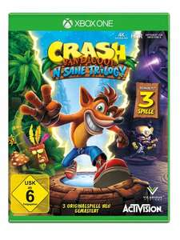 Crash Bandicoot N. Sane Trilogy Remastered (Xbox One Pre-order) voor €19,44 @ Bücher.de