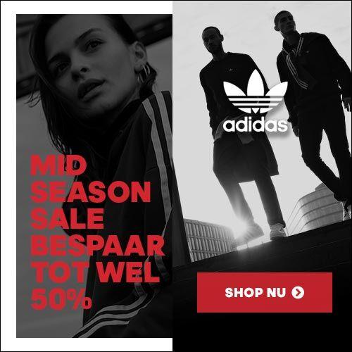 Mid season SALE (tot -50%) @ adidas