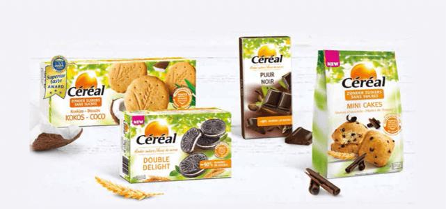 ook via Scoupy: Céréal Suikerbewust assortiment met 50% cashback