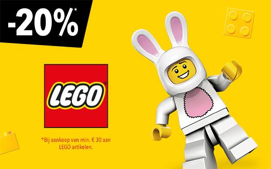 """20% korting op al het LEGO bij Toys""""R""""us"""