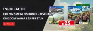 Inruilactie Far Cry 5 & Ni no Kuni II - Revenant Kingdom vanaf €25 @ Gamemania