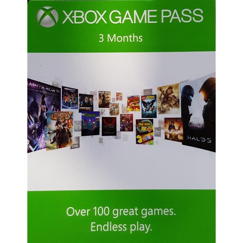 Xbox Game Pass 3 maanden (bestaande accounts en stapelbaar) voor €16 @ gamedealdaily