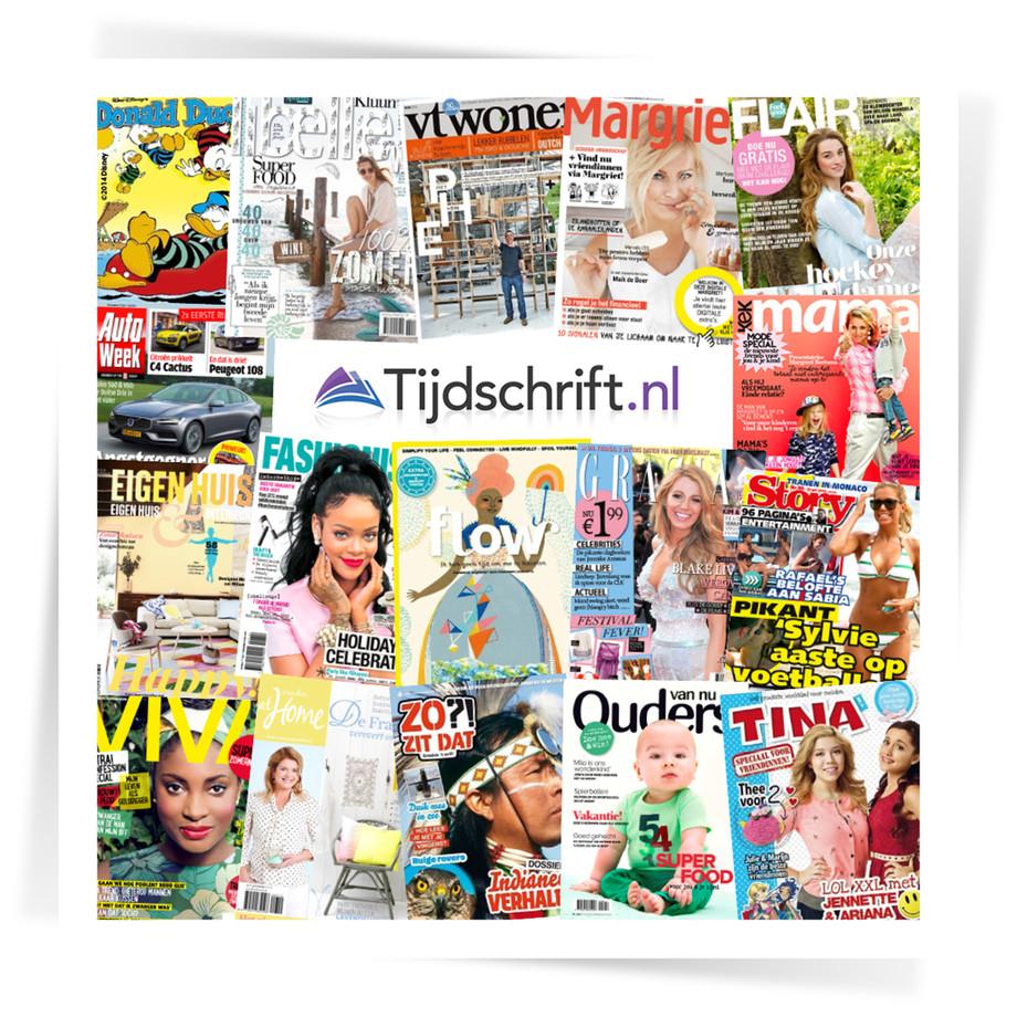 Actiecode voor gratis digitale tijdschrift @ Tijdschrift.nl