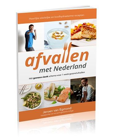 Afvallen met Nederland GRATIS eBook met recepten en informatie