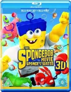 The SpongeBob Movie: Sponge Out of Water (3D Edition with 2D Edition) [Blu-ray]