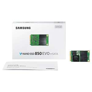 Samsung 850 EVO mSata 500 GB SSD @amazon.es