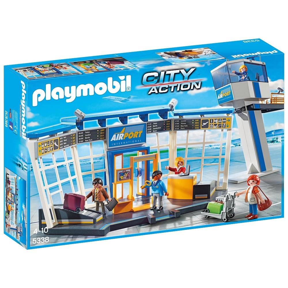 PLAYMOBIL - Luchthaven met verkeerstoren - €24 (alle Playmobil 20% korting) @ ToysRus