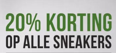 Met code 20% korting op sneakers - ook op sale @ Impericon