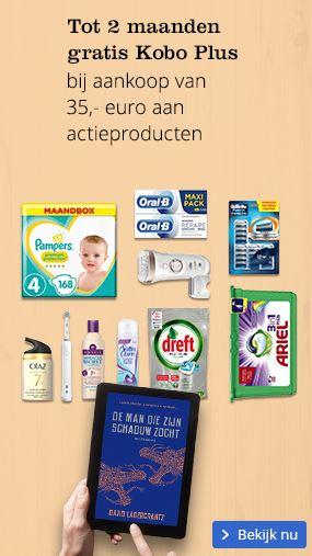 Twee maanden gratis Kobo Plus bij besteding van 35 euro