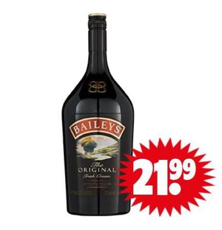 Bailey's Irish Cream 1,5 L €21,99 @ Dirk