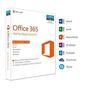 Office 365 Home Multilingual - 1 jaar, 5 apparaten