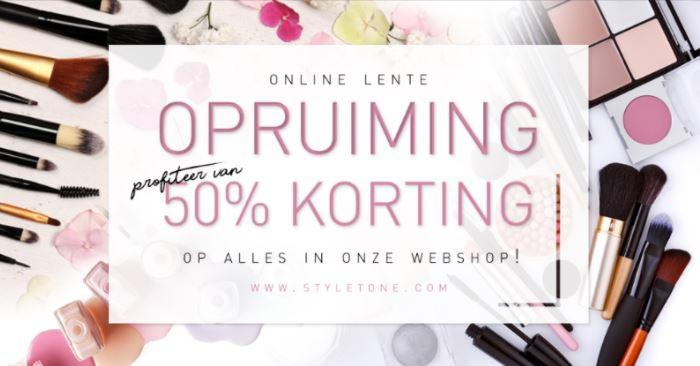 Met code 50% korting op webshop - beautyboxen voor €6,25 (t.w.v. €50-€70) @ Styletone