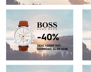 Hugo Boss -40% bij Daily Watch Club