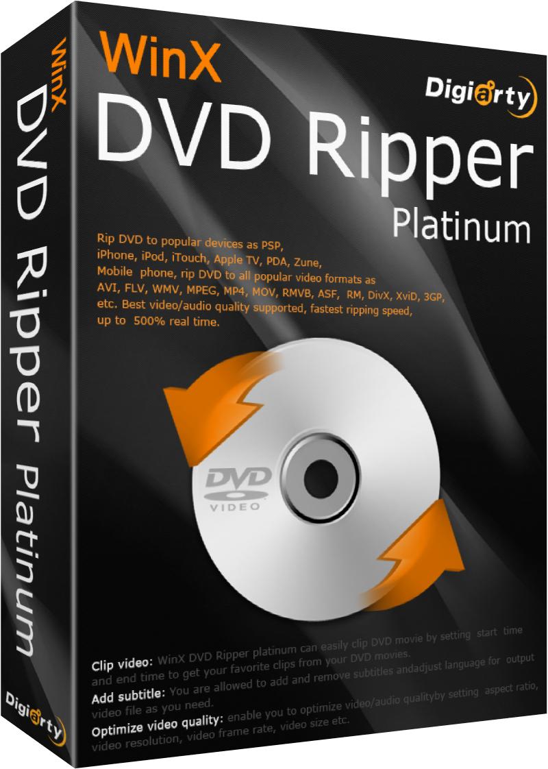 Gratis WinX DVD Ripper Platinum Software @ WinX