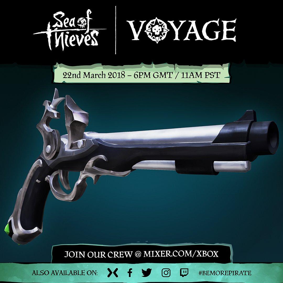 Gratis Flintlock Skin voor Sea of Thieves @ Mixer