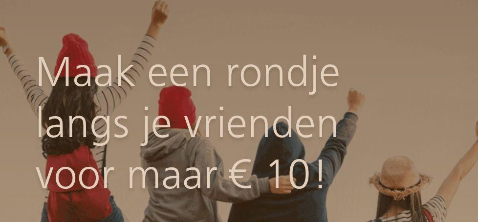 1 dag onbeperkt reizen door heel Zuid-Holland voor maar 10 euro!