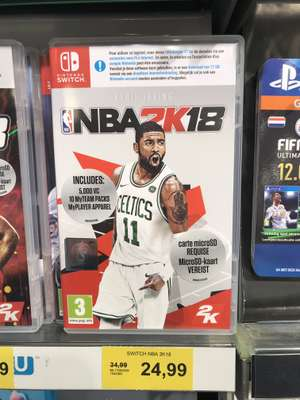Nintendo Switch NBA2K18 bij intertoys