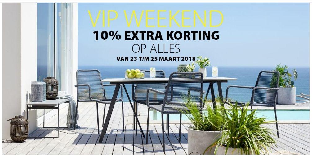 BIJ JYSK 10% KORTING OP ALLES! (23 t/m 25-03)