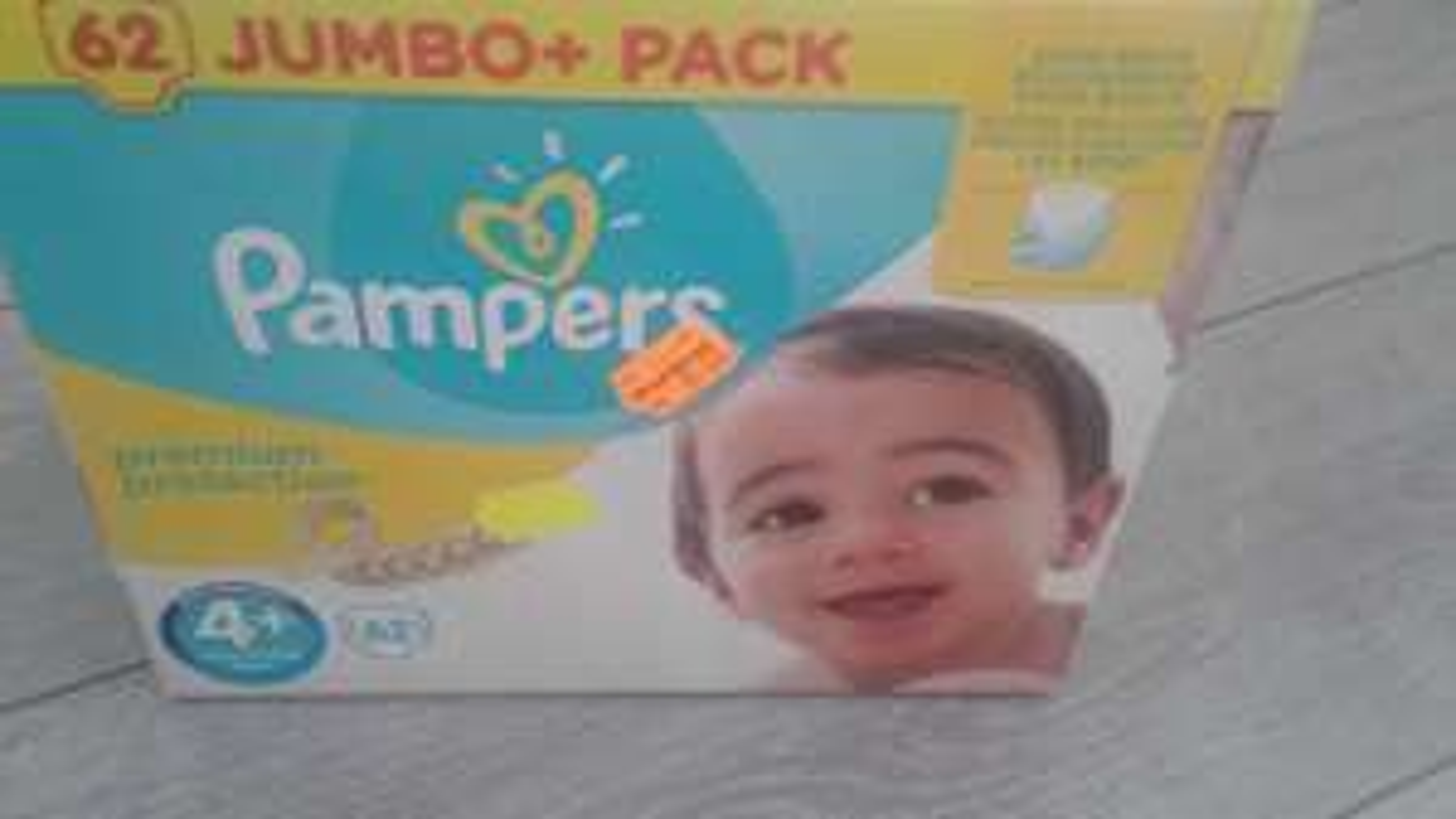 Pampers jumbo+pack 50% korting bij kruidvat