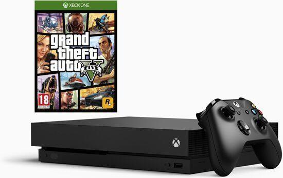 Xbox One X incl. GTA V & Sea of Thieves