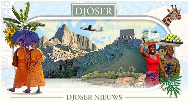 50 euro korting per persoon op reizen bij Djoser