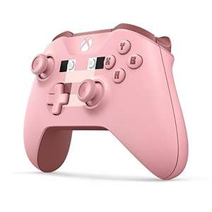 Xbox One Wireless Controller (Minecraft Pig Pink Limited Edition) voor €41,10 @ Amazon.fr