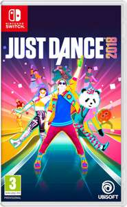 Just Dance 2018 (Nintendo Switch) voor €27,99 @ Bol.com
