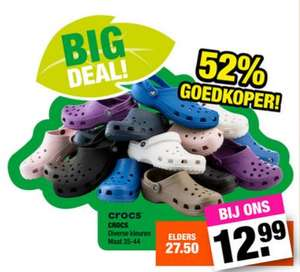 Crocs €12,99 @ Big Bazar